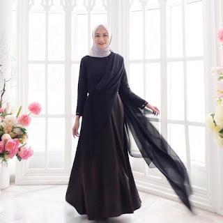 5 Varian Warna Mumbai Dress Model Baju-Muslim-Terbaru-Abinaya Butik