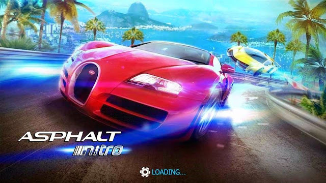 ASPHALT nitro is the Gameloft's new arcade racing game for Android. It is the perfect example of good things in small packages