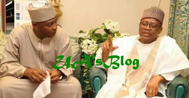 Saraki visits ex-military dictator Ibrahim Babangida in Minna