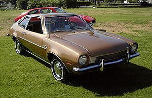 Ford Pinto foi um automóvel pequeno
