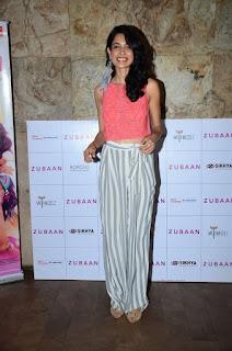 Actress Sarah Jane Dias Pictures at Zubaan Movie Screening 0004