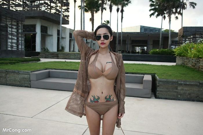 Image Korean-Model-Hwang-Barbie-MrCong.com-005 in post Người đẹp Hwang Barbie trong bộ ảnh nội y, bikini tháng 10/2017 (238 ảnh)