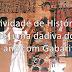 Atividade de História - O Egito - 6º ano com Gabarito