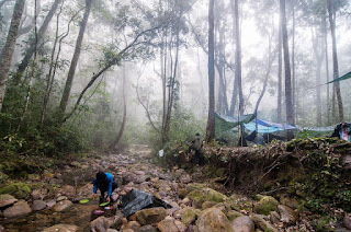 Xekong jungle camping
