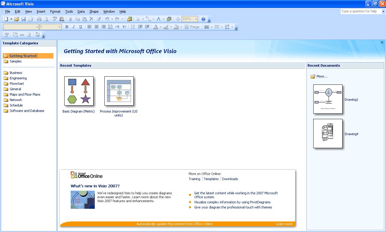 Tutorial cara membuat diagram di microsoft office visio pemerogaman berikut tutorial cara membuat diagram di microsoft office visio 2007 ccuart Choice Image