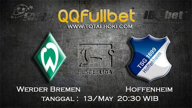 PREDIKSIBOLA - PREDIKSI TARUHAN WERDER BREMEN VS HOFFENHEIM 13 MAY 2017 (BUNDESLIGA)