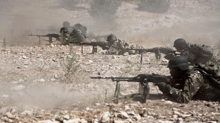 Lagi, Rezim Syiah Suriah Gempur Zona Demiliterisasi Idlib