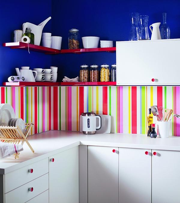 Dapur bercorak garis lurus