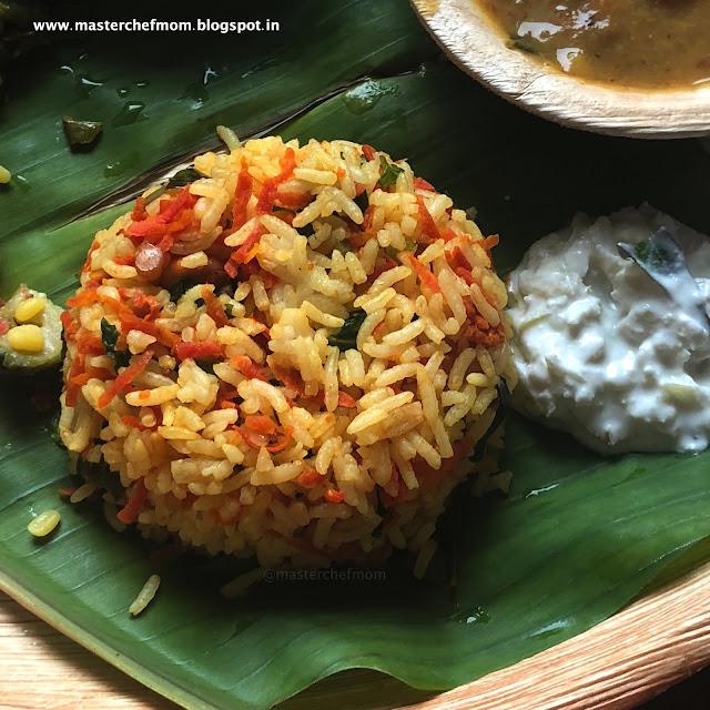 Carrot Turmeric Rice