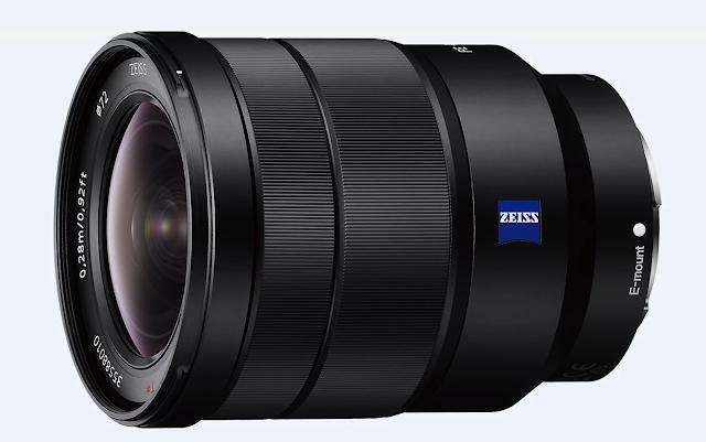 Lensa Vario-Tessar T* FE 16-35mm F4 ZA OSS