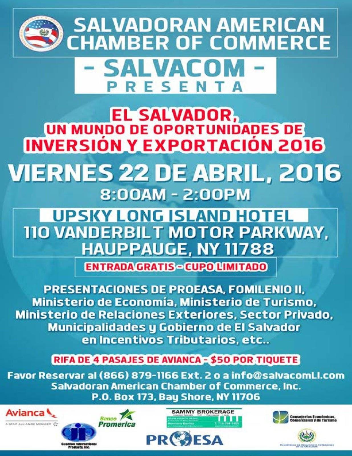 FORO - SALVADOREÑOS EN LONG ISLAND: abril 2016