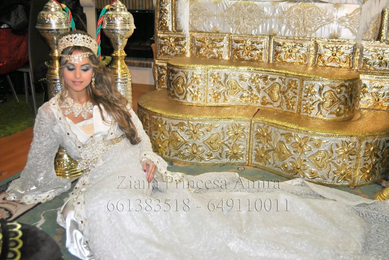 Mis Vestidos de Novia  Vestidos de novia marroquíes  Ziana Princesa Amira a4bc4f2e5f0b
