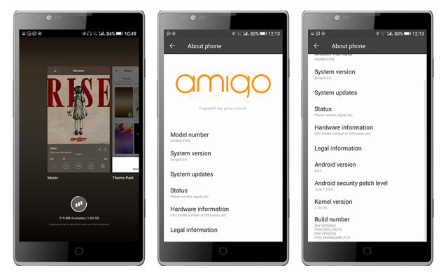 Amigo OS 3 2 Marshmallow custom rom for Tecno C8 - Andro9ja