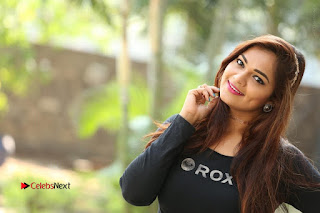 Actress Aswini Latest Stills in Black Denim Jeans  0231.JPG