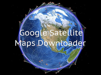 Google Satellite Maps Downloader Free