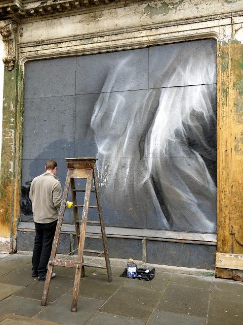 Street Art By Guido Van Helten On The Streets Of Edinburgh, Scotland. 3