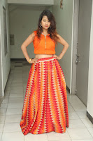 Shubhangi Bant in Orange Lehenga Choli Stunning Beauty ~  Exclusive Celebrities Galleries 072.JPG