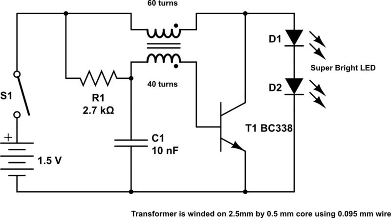 12 volt led driver circuit