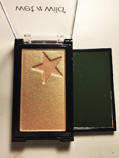 wet n wild megaglo highlighting gold bar holly gold-head