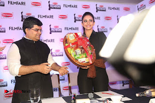 Actress Rakul Preet Singh Pictures at 63rd Britannia Filmfare Awards 2016 Press Meet  0302.JPG