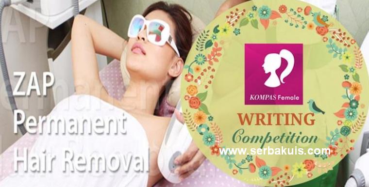 Kontes Menulis Cerita Berhadiah Voucher ZAP Total 4 JUTA