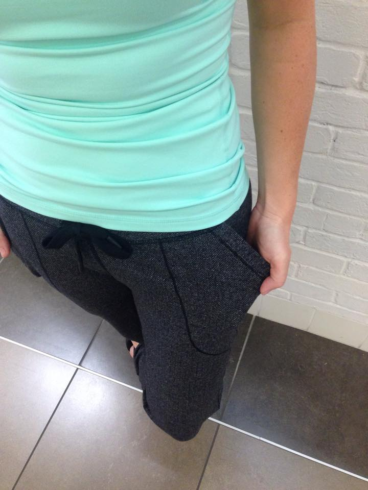 lululemon herringbone base runner pant