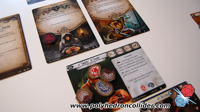 Arkham Horror Card Game LCG review monster attack