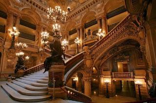 Inspiração - Entrada da Casa de Ópera de Paris - Ópera Garnier