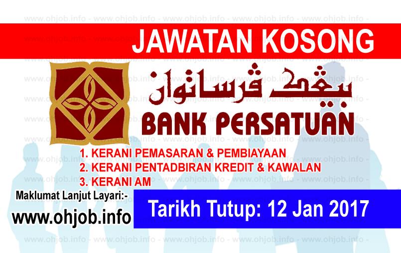 Jawatan Kerja Kosong Bank Persatuan Malaysia Berhad logo www.ohjob.info januari 2017