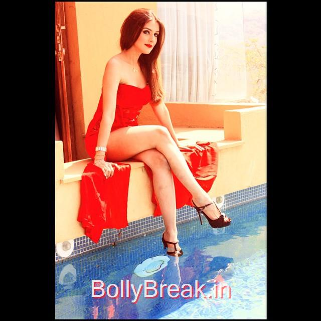 , Aarti Chabria Hot Pics in Sexy Dresses