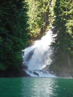 Waterfall in Ross Lake National Recreation Area
