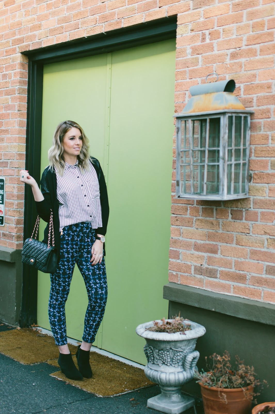 Modest Outfit, Mixing Prints, Utah Fashion Blogger