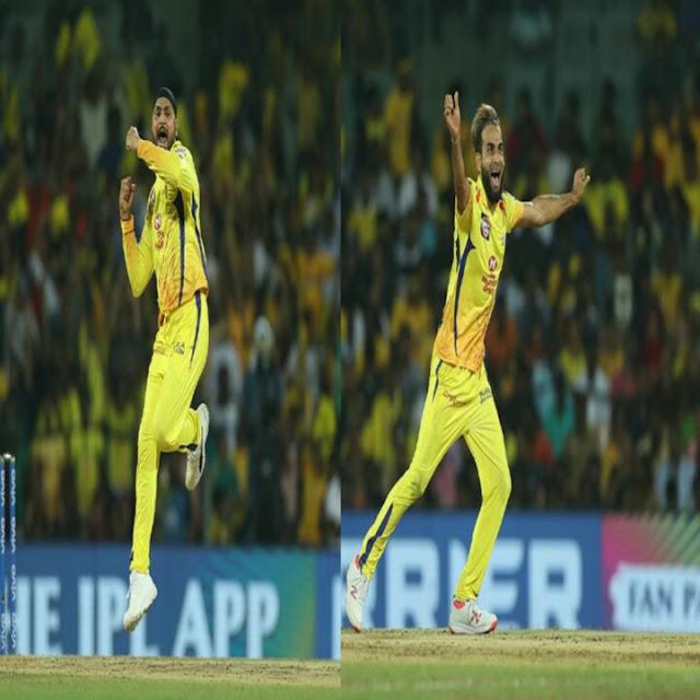 हरभजन सिंह और इमरान ताहिर ने आरसीबी के ख़िलाफ़ तीन तीन विकेट झटके