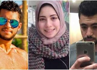 تشييع جنازة ضحايا حادث مذبحة فيلا الرحاب بمدينة مشتول السوق بالشرقية