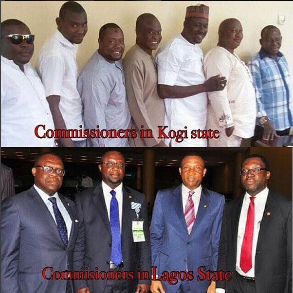 Trending on social media: Lagos commissioners vs Kogi commissioners