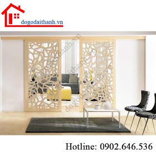 www.123nhanh.com: Trang trí nội thất bằng vách ngăn gỗ