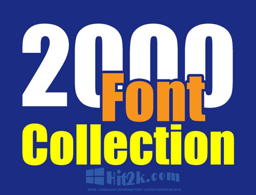 Download Font Collection 2.174 Zip For PC and Mac