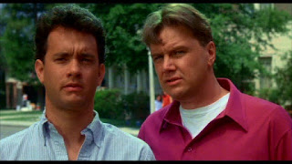 Tom Hanks and Rick Ducommun