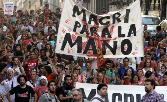 Con paro nacional rechazan medidas del Gobierno de Macri