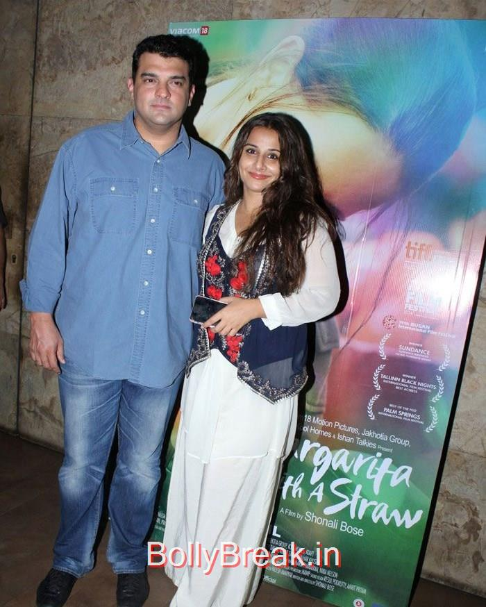 Siddharth Roy Kapur, Vidya Balan, Kalki Koechlin, Sridevi Hot Pics At 'Margarita With A Straw' Special Screening