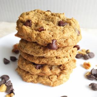 Loaded Oatmeal Peanut Butter Cookies (Gluten free!)