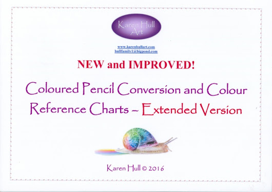 All New Coloured Pencil Conversion and Comparison Charts ~ Extended Version