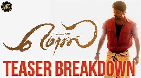 Mersal Teaser Breakdown | Vijay | Atlee