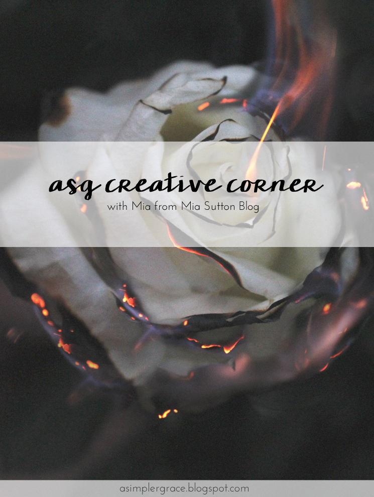 ASG Creative Corner with Mia - A Simpler Grace