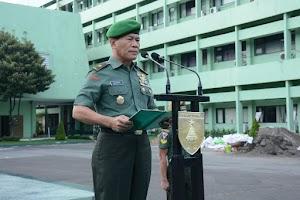 Upacara Bendera, Kasdam: Terima Kasih Atas Pengabdian dan Dedikasi Seluruh Prajurit