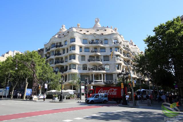 バルセロナ - カサ・ミラ