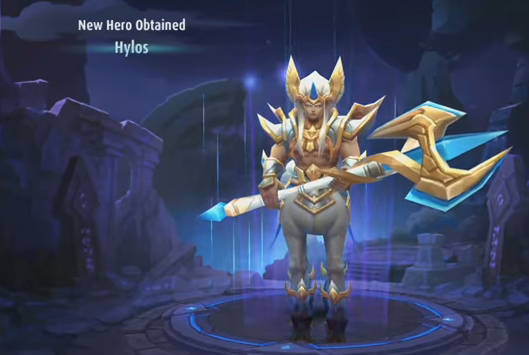 Review New Hero Mobile Legend Hylos Grand Warden : Hero Tanker