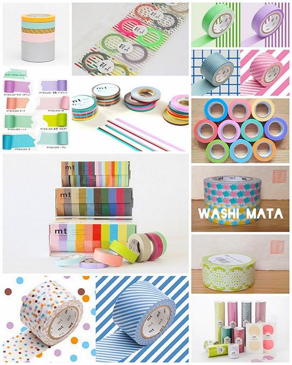 Favourite Washi Tape Stores