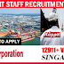 URGENT STAFF RECRUITMENT AT SINGAPORE 2017