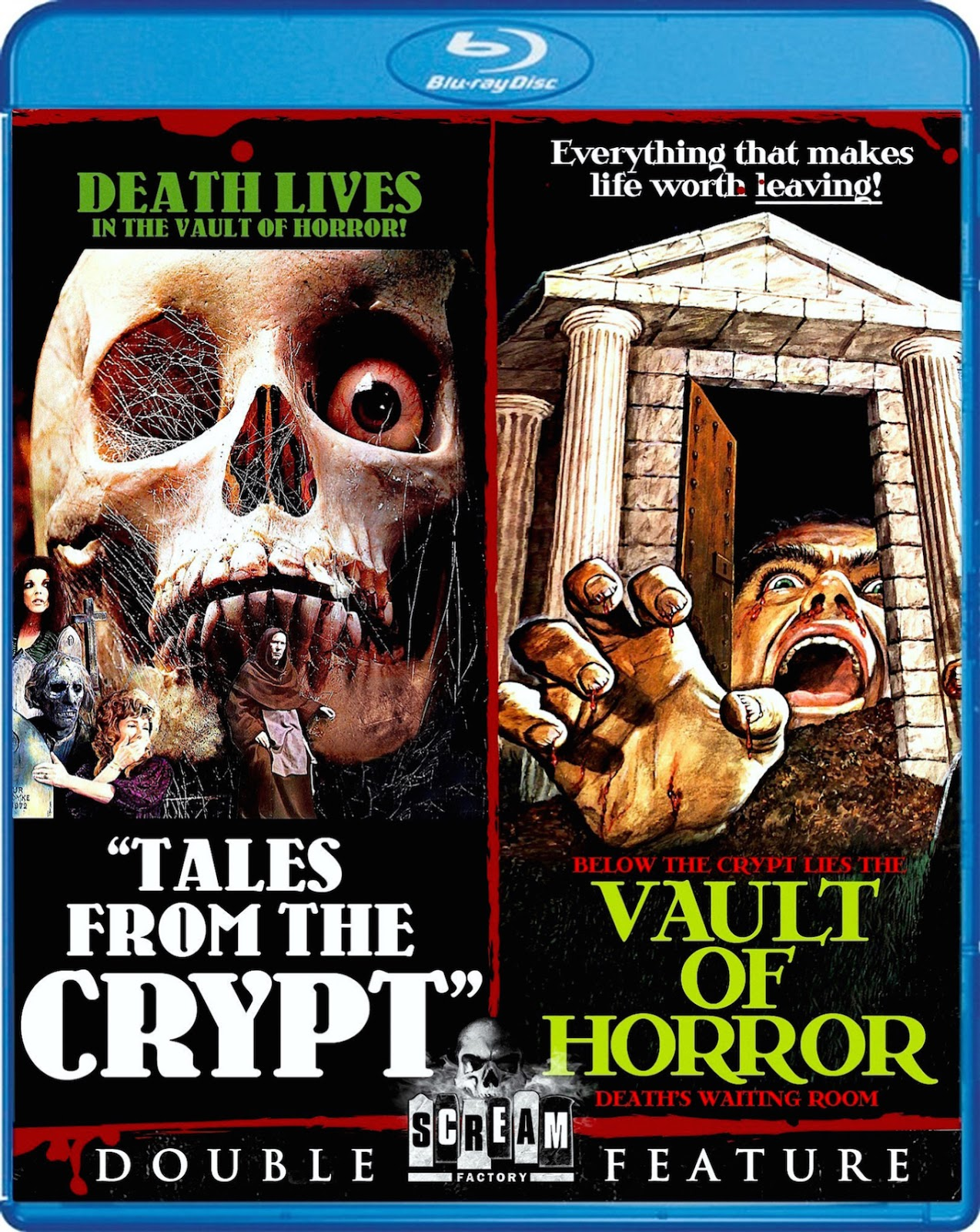 Blu-Ray And Dvd Covers Scream Factory Double Feature Blu -7620